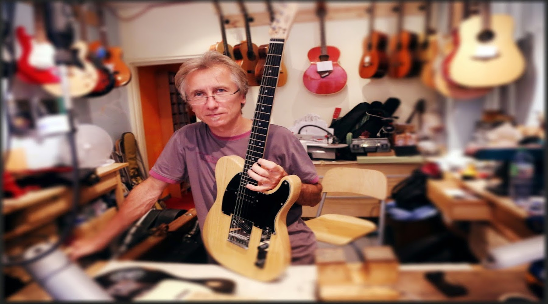 Luthier guitare Toulouse