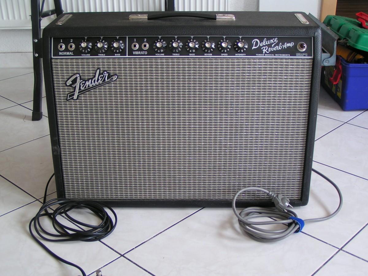 Ampli Fender Deluxe Reverb
