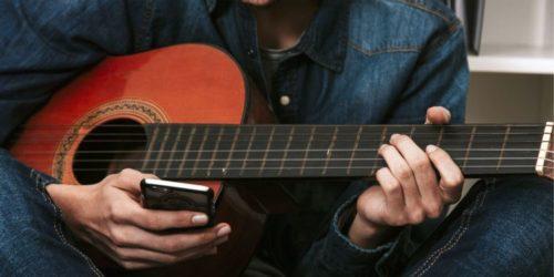 application apprendre jouer guitare