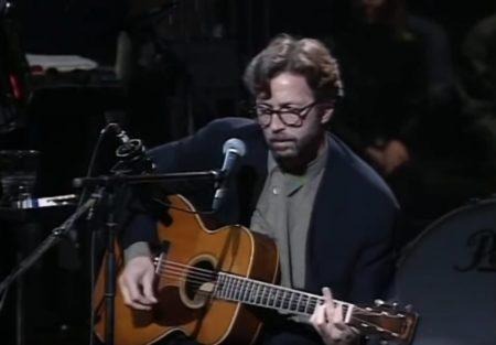 Eric Clapton et sa guitare Martin 000-42